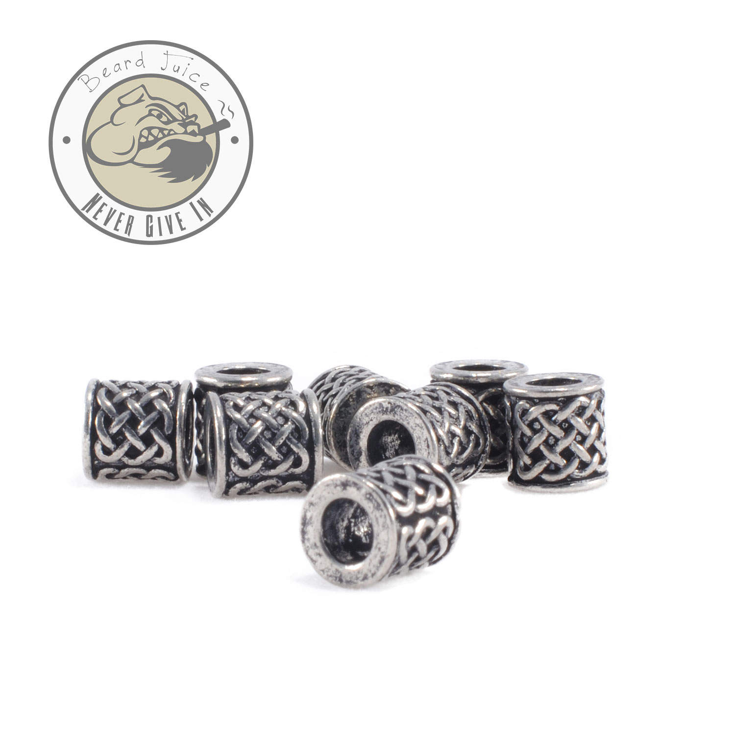celtic tub beard beads