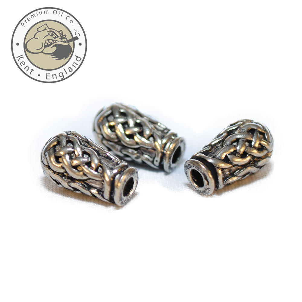celtic urn beard beads