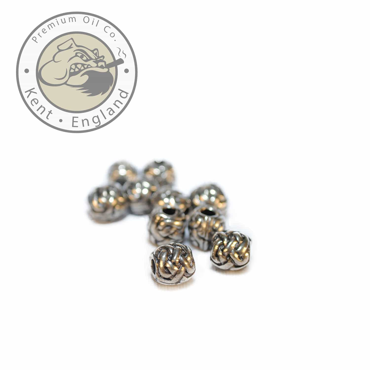 celtic sphere beard bead 9mm